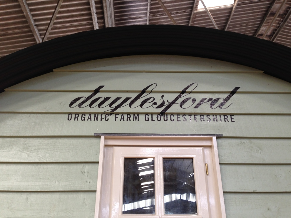 Shepherd's Hut at Daylesford Farm Shop 2014