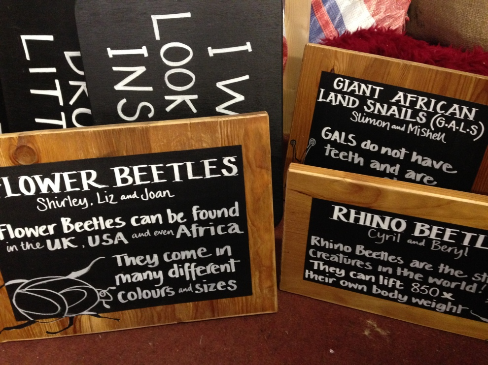 Events Signage for The BakeHouse Factory, Bristol 2014